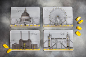 London Landmarks Set Of Four Placemats