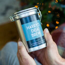 Personalised Coffee Gift In A Tin