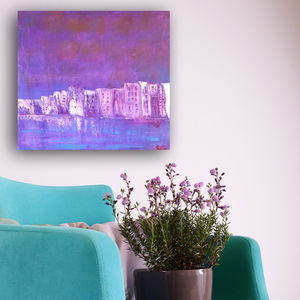 Purple Haze Original Acrylic Painting - paintings