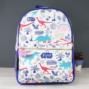 Personalised Dinomite Backpack