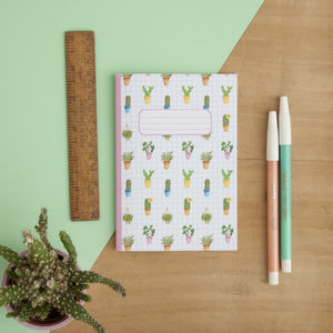 Cacti Print Pocket Notebook
