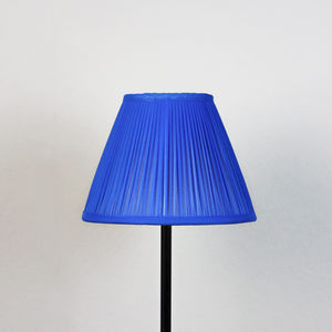 Électrique Chiffon Gathered Lampshade - office & study