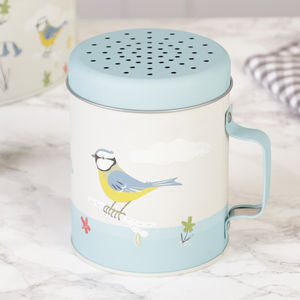 Blue Tit Flour Shaker - kitchen accessories