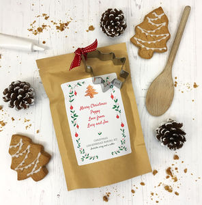 Gingerbread Baking Mix Pouch With Cutter And Icing - creative activities