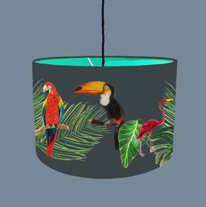 Tropical Rainforest Lampshade - lampshades