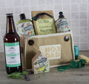 Fathers Day Gardening Gift Set With Ale