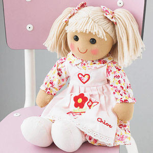 Personalised Rag Doll: 3yrs+