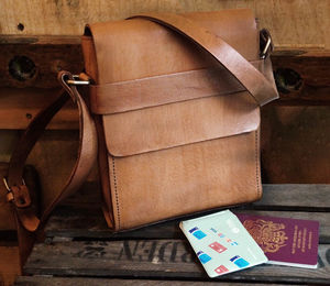City Leather Messenger - new in fashion