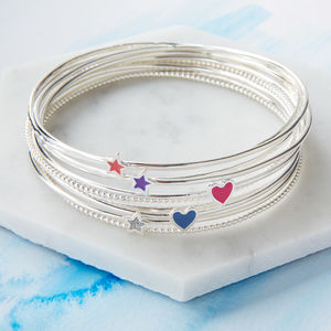 Candyfloss Stacking Bangles