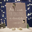 All I Want For Christmas Gin Advent Calendar