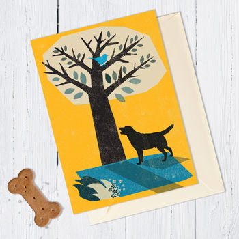 Retriever Dog Card