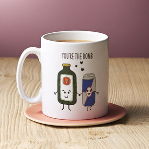 'You're The Bomb' Valentines Mug - funny valentine's gifts