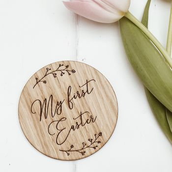 'My First Easter' Milestone Card