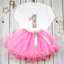 First Birthday Personalised Liberty Tutu Outfit
