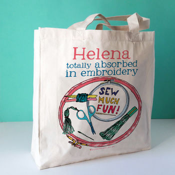 Personalised Embroidery Bag