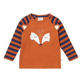 Fox Face Raglan Top