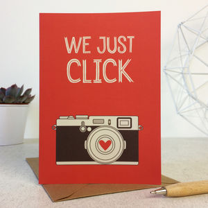 Funny Camera Photography Anniversary Card - winter sale