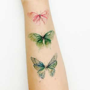 Butterfly W. Temporary Tattoo - temporary tattoos