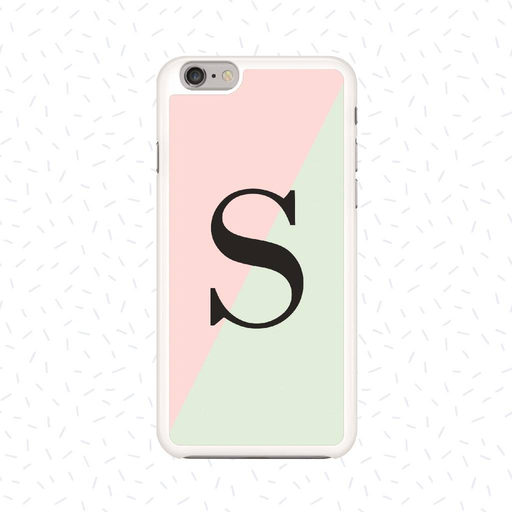 Personalised Colour Block Phone Case