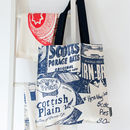'Scottish Breakfast' Canvas Tote Bag