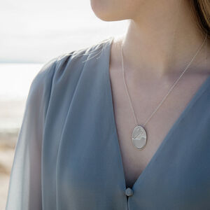 Personalised Coastline Pendant