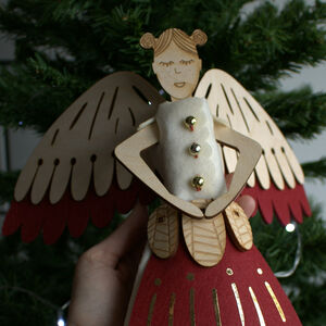 Fairy Christmas Tree Topper