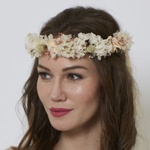 Sophie Classic Horseshoe - bridal hairpieces