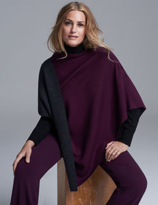 Reversible Poncho - accessories sale