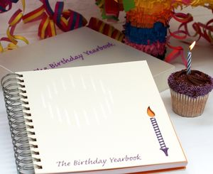 1st To 18th Birthday Memory Book