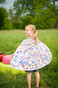 Colour In Fairy Cape