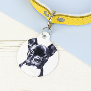 Photograph Pet ID Tag