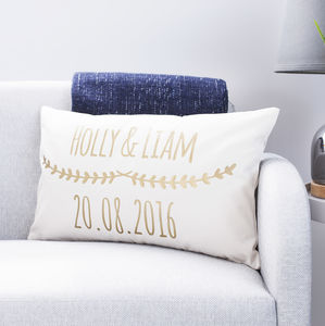 Personalised Couples Cushion - cushions