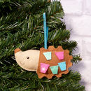 Handmade Christmas Decoration Hedgehog