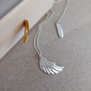 Personalised Wing Necklace
