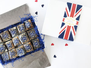 British Indulgent Gluten Free Brownie Box