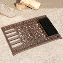 Cast Iron Doormat With Boot Brush And Scraper
