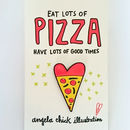 Pizza Lover Enamel Pin Pizza Slice Badge