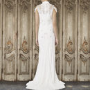 Bridal Gown With Fallen Straps