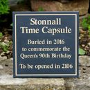 Personalised Time Capsule Plaque