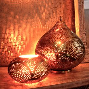 Special Offer Kasbah And Oval Lantern Set - outdoor lights