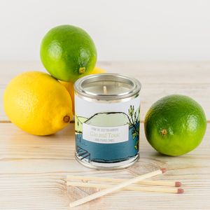 Gin And Tonic Juniper Berries Candle Tin