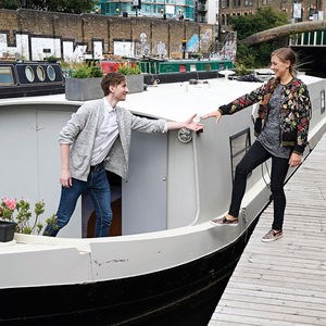 East London Canal Boat Overnight Stay Experience - gifts for fathers