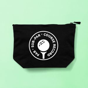 Golfing Toiletries Bag