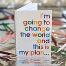'When I Grow Up…' Little Notebook For Children