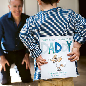Reasons I Love Dad Children's Book - personalised gifts