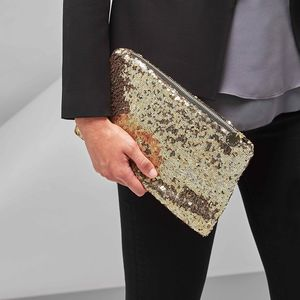Personalised Sequin Pouch - party wear & accessories