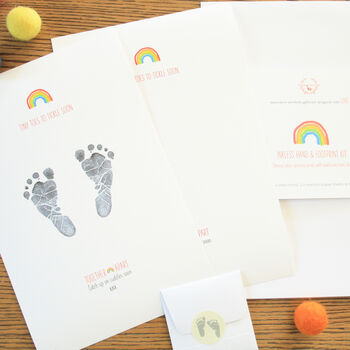 Together Apart Inkless Hand And Footprint Kit