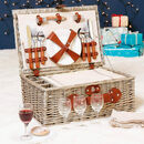Bloomsdale Personalised Family Picnic Hamper For Four