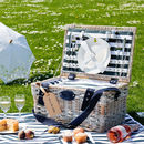 La Ciotat Nautical Striped Couples Picnic Hamper