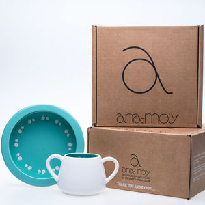 Baby Robin Porringer Bowl And Mug Gift Set - baby care